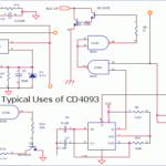 CD4093 Quad NAND Schmitt Trigger