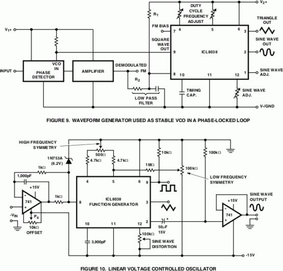 ICL8038 Versatile Waveform Generator