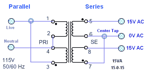 Center Tap Transformer