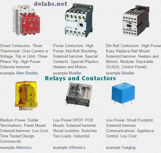 Relays and Contactors 1