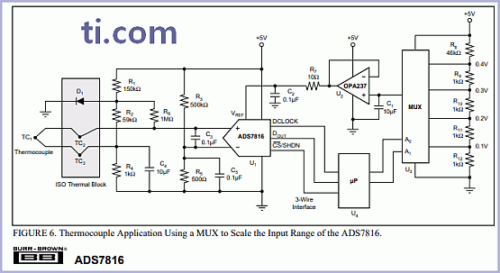 ADS7816 - 12-Bit High Speed Sampling AD