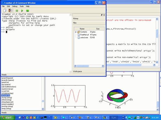 FreeMat - Engineering Technical Computing