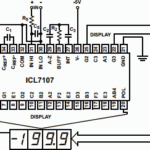 ICL7107 DPM and DVM chip from Intersil