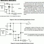 Zero-Crossing Triac Driver – MOC3041