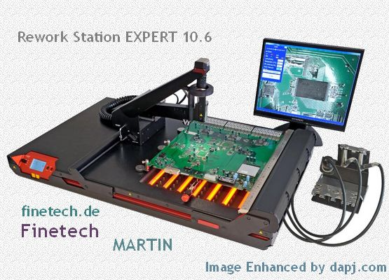 The Expert 10.6 rework stations