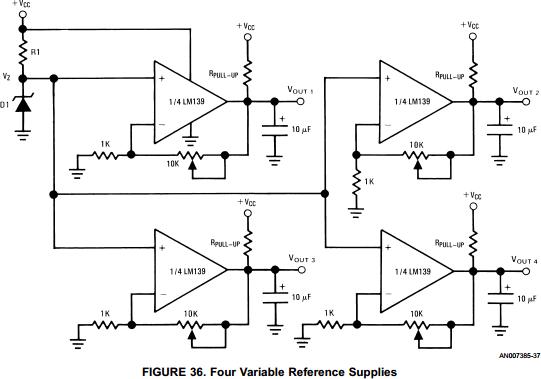 Quad General Purpose Differential Comparator - LM339