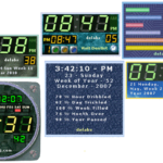 Date Time Clock Widgets