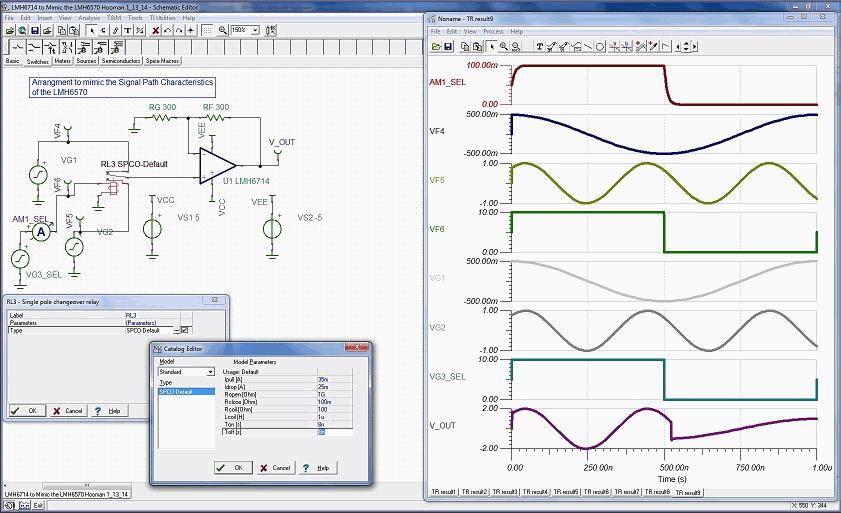 SPICE Analog Simulation Program TINA TI