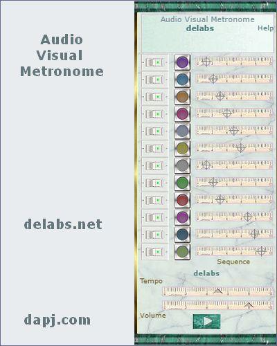 Audio Visual Metronome