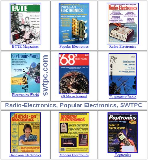 Radio-Electronics and Popular Electronics