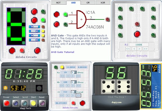 Digital Electronics Interactive Tutors