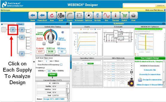 Power Designer and WEBENCH